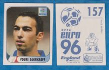 France Youri Djorkaeff Paris St Germain 157 (E96)
